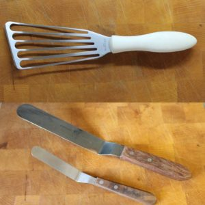 fish spatula and offset spatulas
