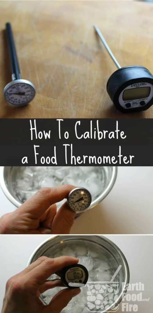 Learn how you can calibrate a food thermometer to ensure your food is cooked to the proper temperature and is safe to eat!