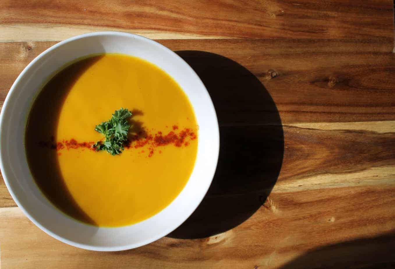 Butternut Squash & Garam Masala Soup