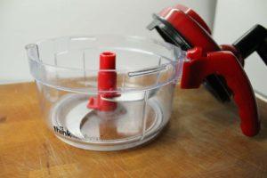hand crank food processor
