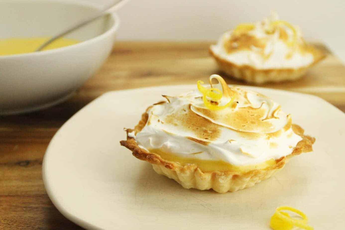 Mothers Day Lemon Meringue Tarts