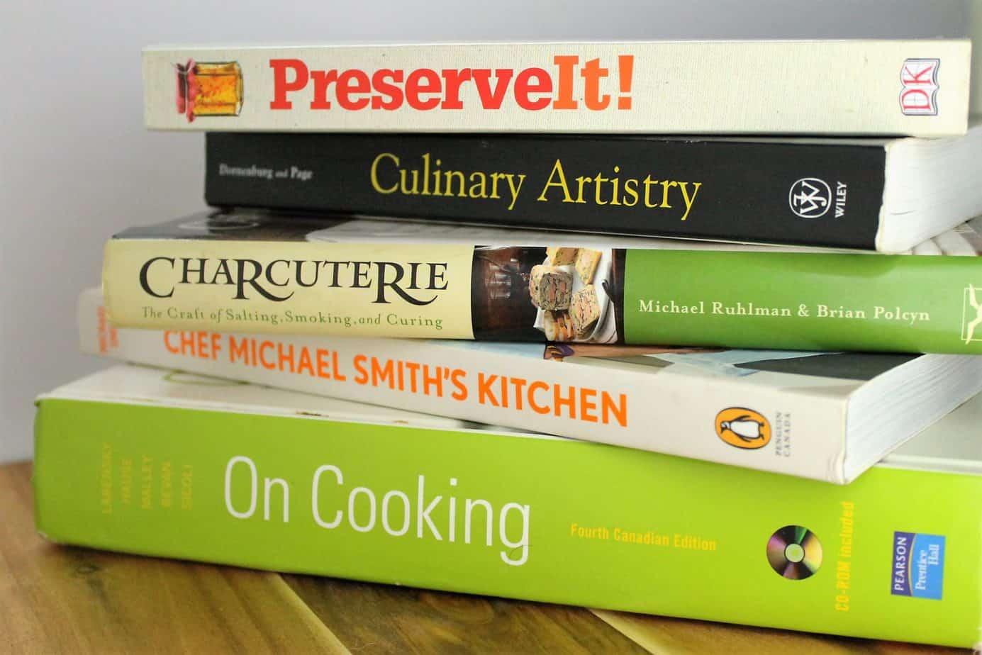my collection of must have cookbooks