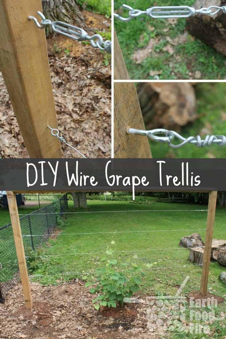 Excellent Building A DIY Wire Trellis SQ03