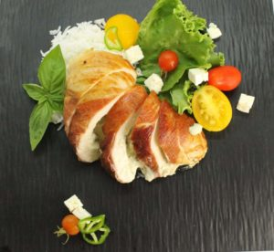 Creamy Basil Stuffed Chicken Breast