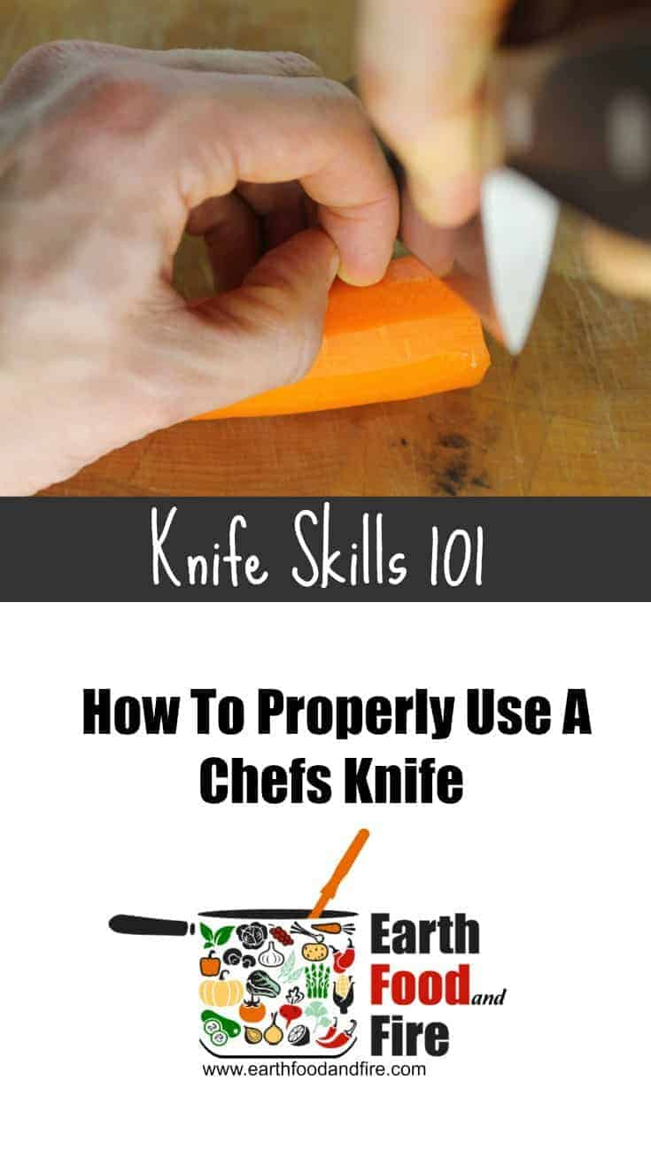 Learn the basic knife skills every chef should know. How to hold and use a knife, as well as basic cuts like, julienne, small, medium and large dice and others.
