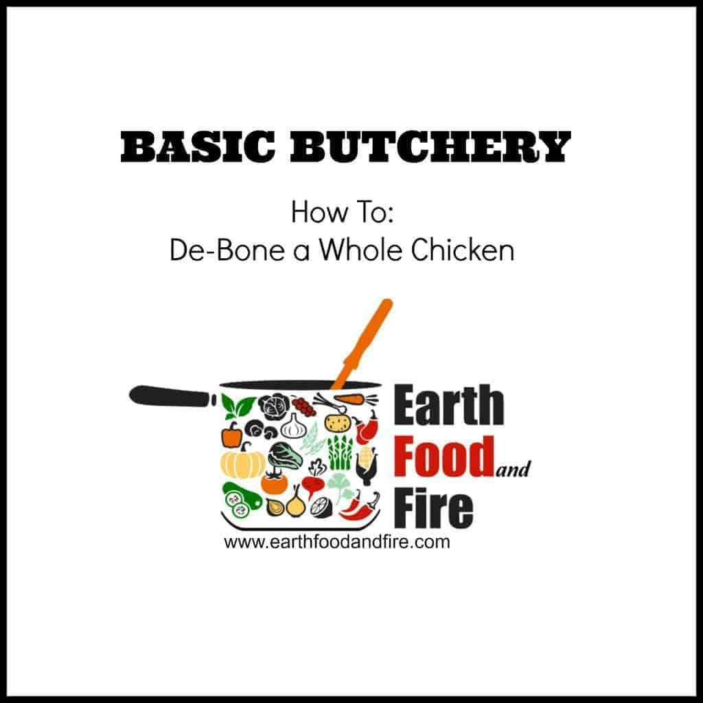 Learn how to debone a whole chicken with this culinary tutorial. - @earthfoodfire