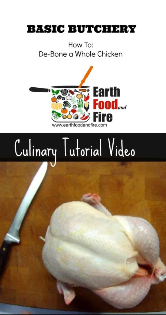 How to debone a whole chicken - culinary tutorial