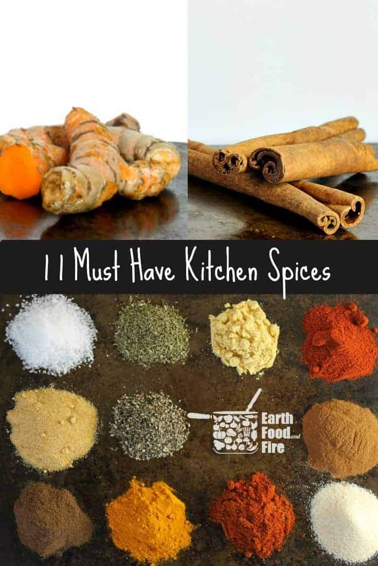 11 must have spices, your kitchen pantry should always have stocked and how to use them! #spices #pantrystaples #pantry #learninghowtocook