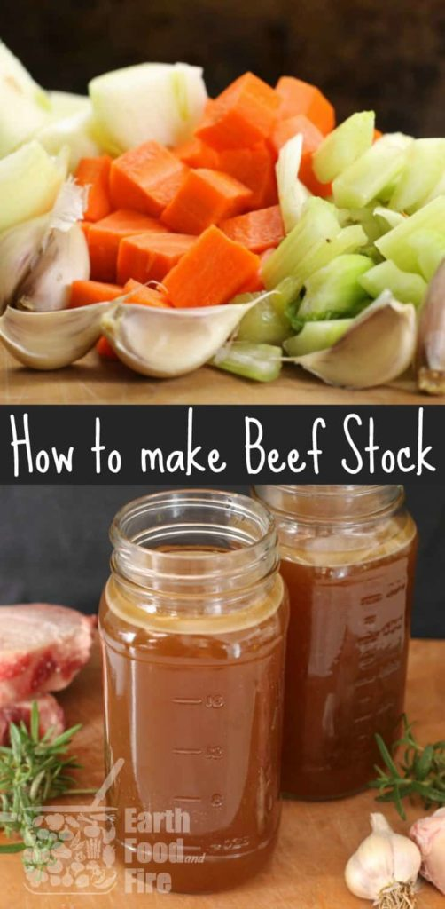 Learn how to make beef stock and broth at home. A simple recipe and full of health benefits.