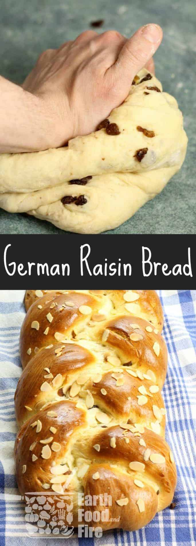 A deliciously soft Raisin Bread (Rosinenbrot) from Luisa Weiss'