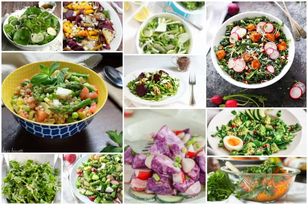 11 seasonal spring salads