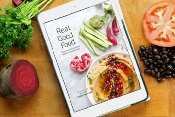 Learn how to start eating healthy, nutritious foods with Gabrielle Gottschalk's ecookbook 'Real. Good. Food.' . Packed with 40 recipes and beautiful photos!