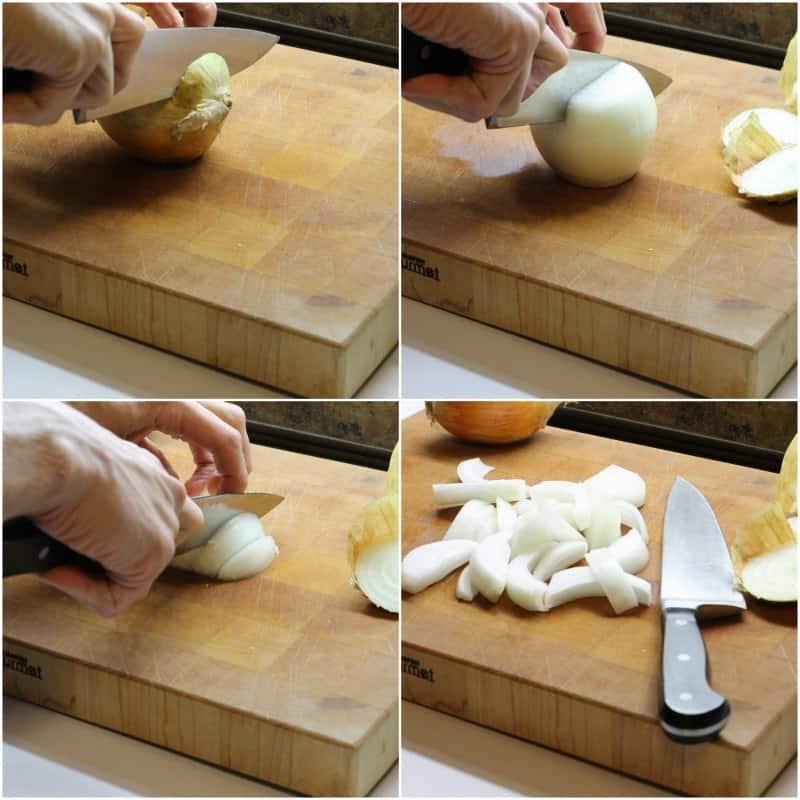 Julianne an onion in a few simple steps!