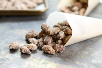 German Candied almonds