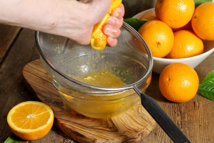 Fresh Squeezed Orange Juice - Earth, Food, and Fire