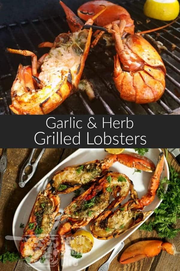 Grilled lobster is a delicious and easy way to expand your seafood grilling selection and addition to any BBQ or special occasion. #lobster #lobstertails #grilled #shellfish